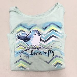 Justice Born To Fly Shirt